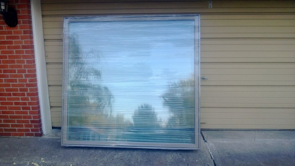 New Huge Pella Wood Fixed Picture Window W Cladding For