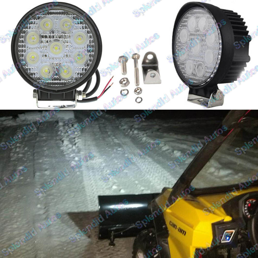 One 9 Led 27w High Power Led Work Light Lamp For Suv 4x4