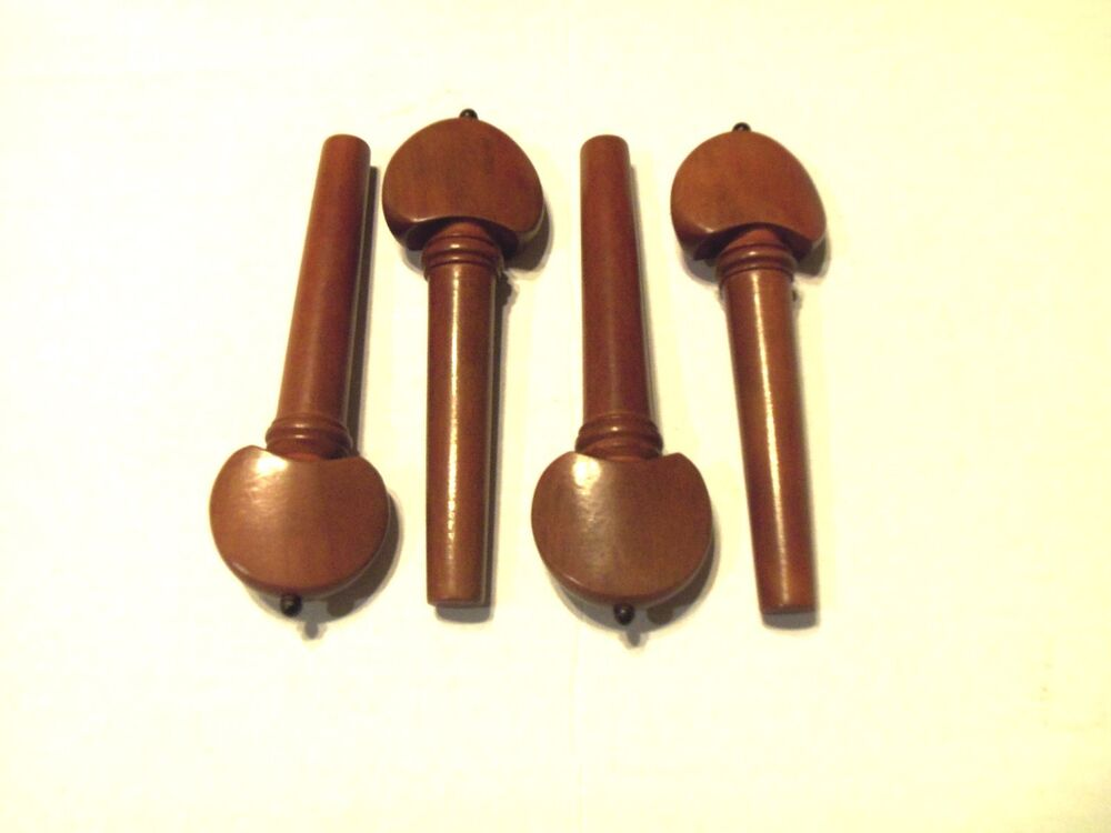 Violin pegs boxwood hill with black style parts