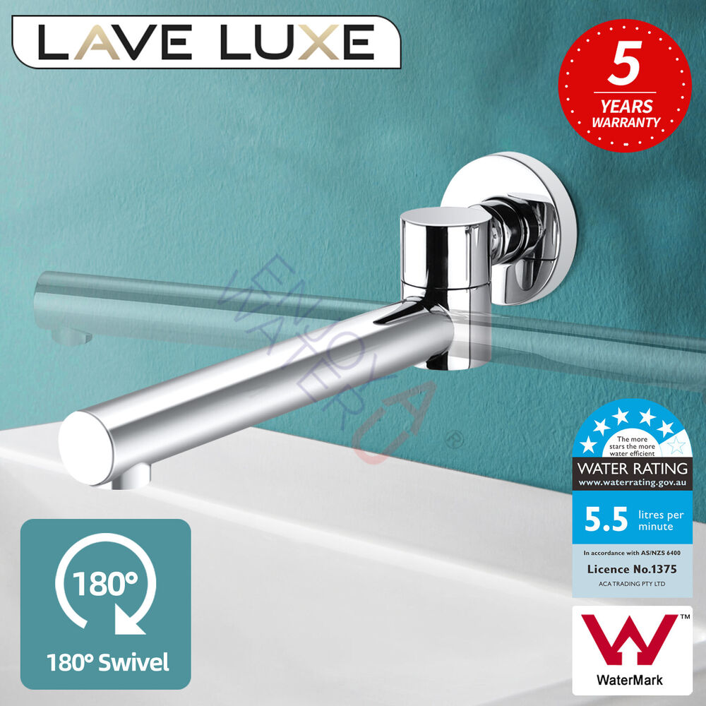 Spa Faucet Pedicure Spa Mixing Valve Bathtub Faucet Mixer: Round Swivel Bathroom Spa Bath Basin Water Outlet Spout