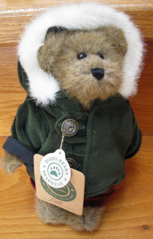 Retired Boyds Bears Amp Friends Matt Bear From The Archives Series 1364 Tags Exc Ebay