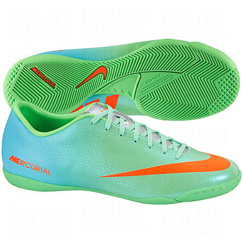 Nike Indoor Soccer Shoes Black Orange