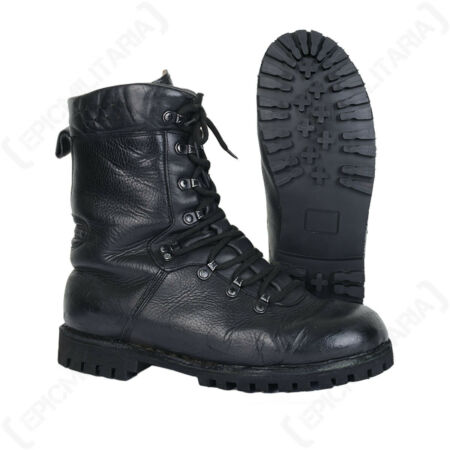 img-German Army Combat Boots - Winter Stitched Leather Military Cadet Patrol Surplus