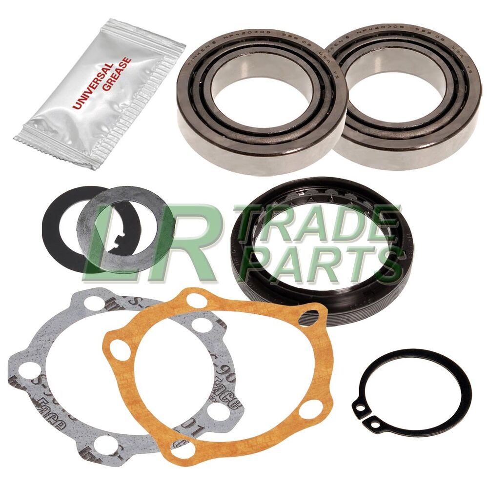 Wheel Hub Grease Seals : Land rover discovery new wheel bearing kit with seal