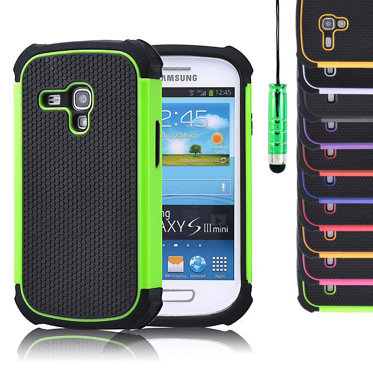shock proof case cover for samsung galaxy s4 s3 mini. Black Bedroom Furniture Sets. Home Design Ideas