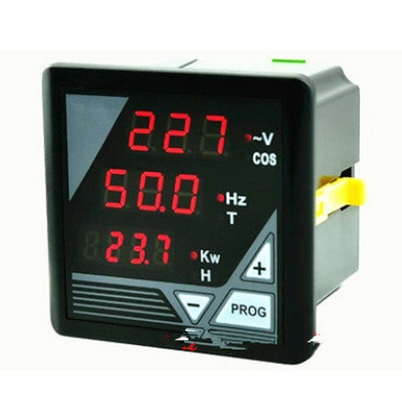 Hour Meters Panel : New led generator v voltage hz kw power cos hour time
