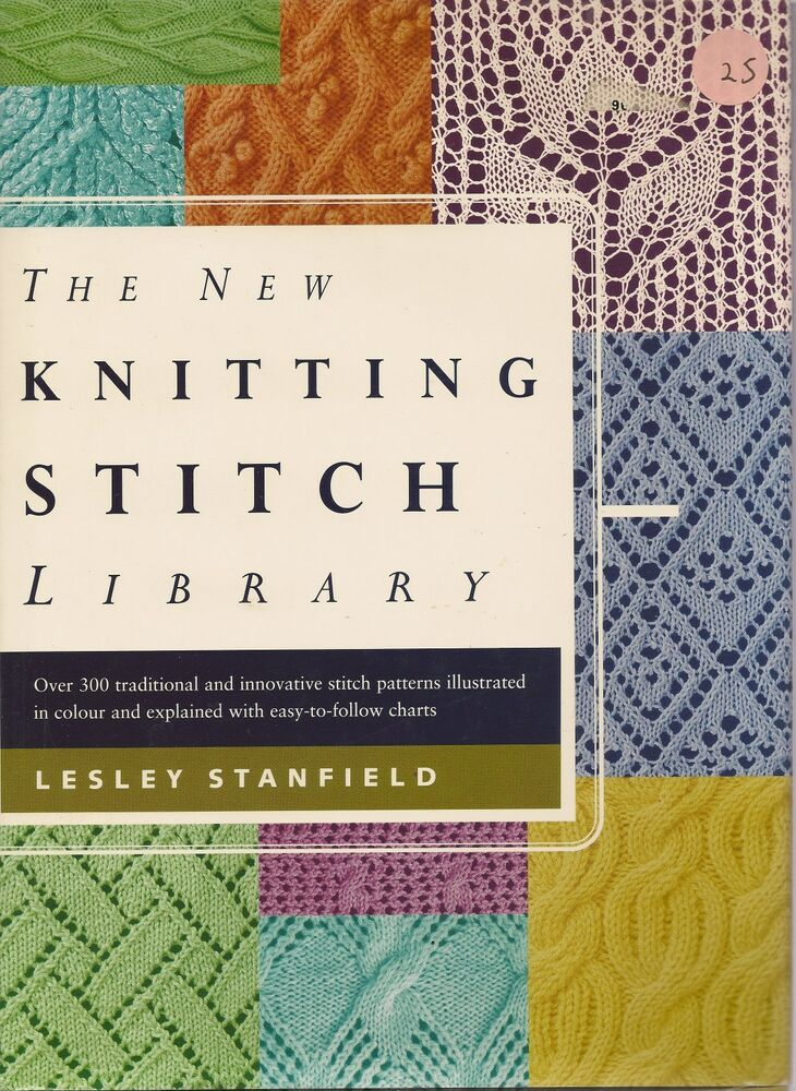 The New Knitting Stitch Library (HARDCOVER) 1579900275 eBay