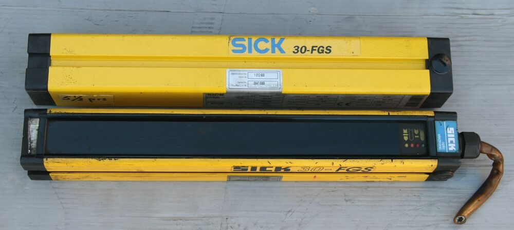 Sick Fgss300 21 And Fgse300 21 300mm Light Curtain Pair