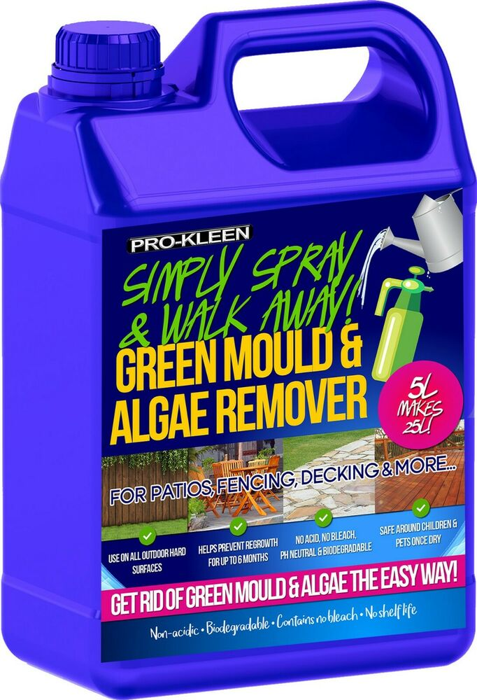 Patio Cleaner Mould Algae Moss Killer Remover Drive Path