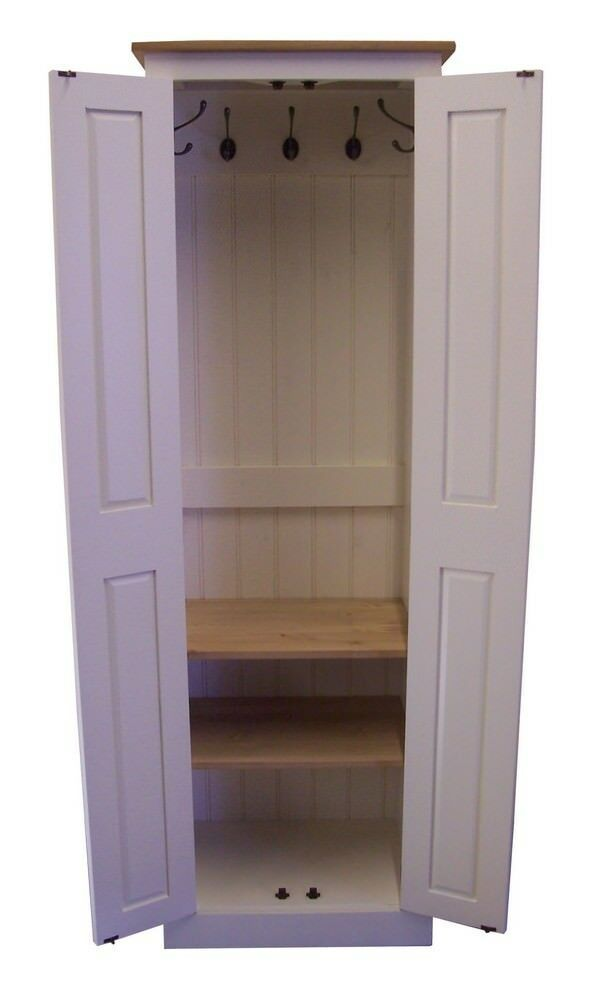 Foyer Coat Storage : Hall cupboard coat shoe hat bag boot room storage hooks
