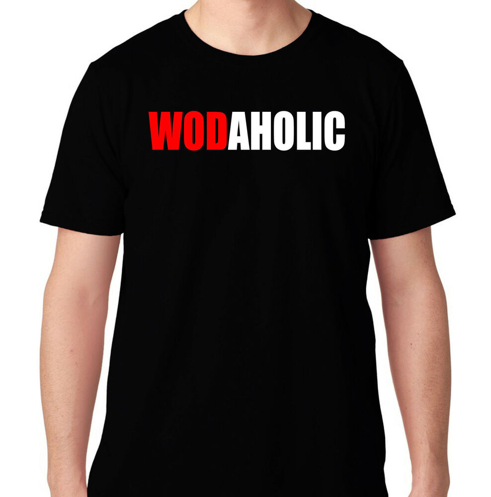 Wodaholic Crossfit Weights Gym Funny Protein Bench Running