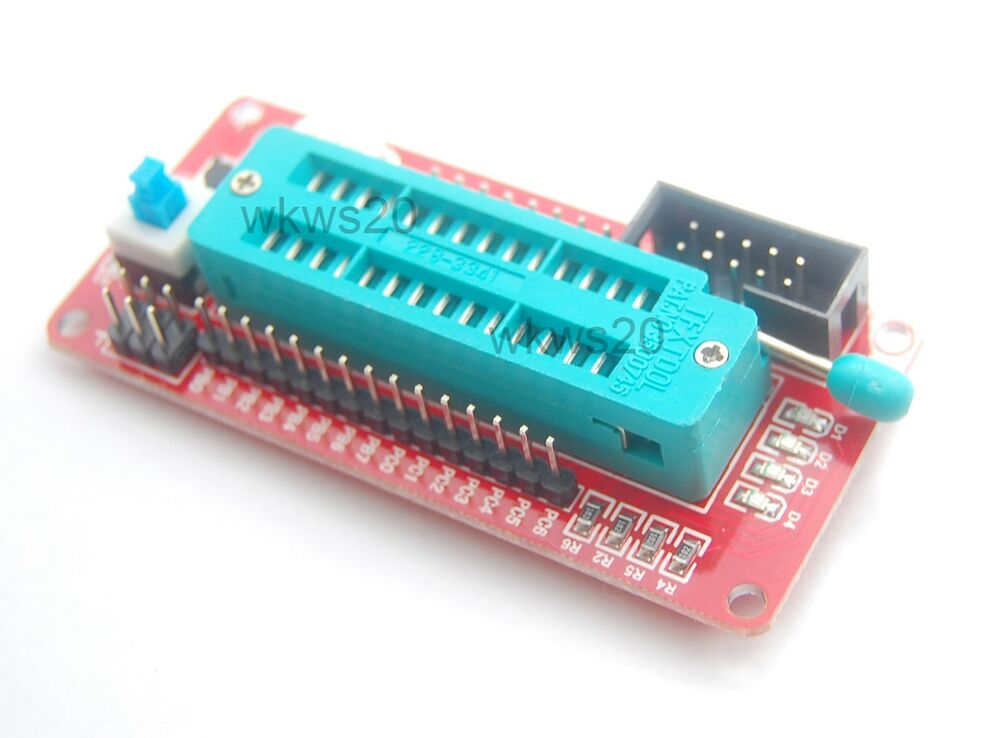 Atmel atmega mini development board avrisp avr