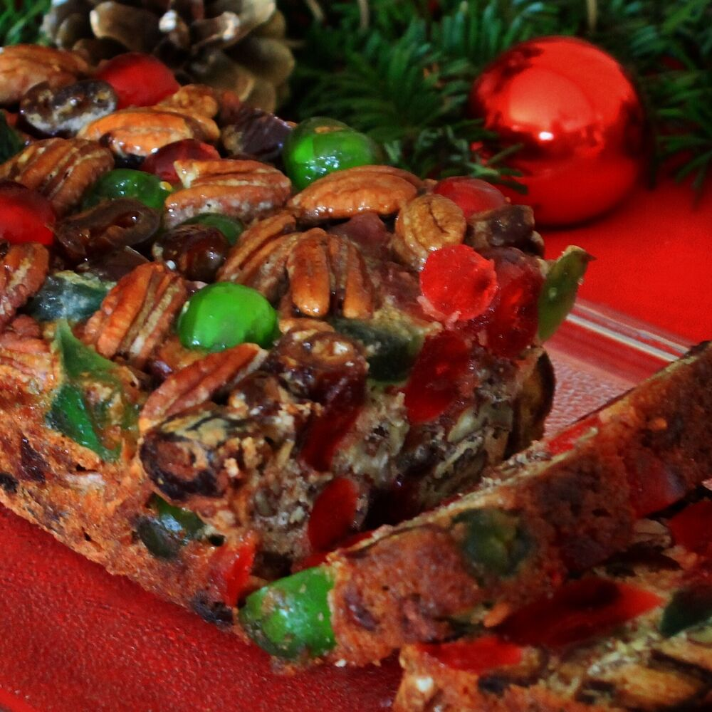 Mary Lou S Famous Homemade Holiday Fruitcake 1 Pound Loaf