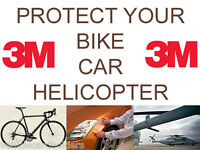 Helicopter Bike Frame Protection Tape 8671HS Strong Clear Protective Film by 3M