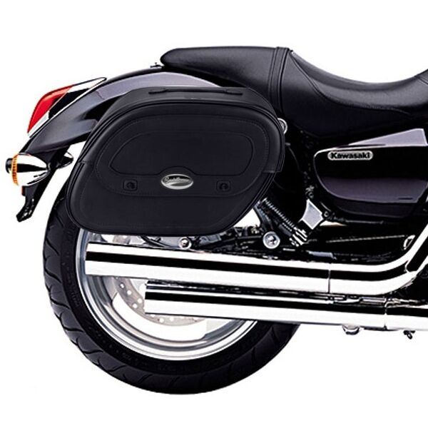 kawasaki vn 1600 mean streak saddle bags rigid support. Black Bedroom Furniture Sets. Home Design Ideas