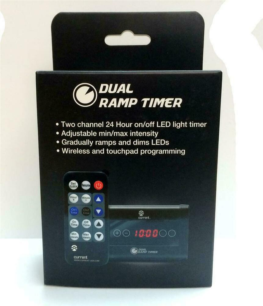 T5 Timer Panel Controller Replacement Odyssea Aquarium: CURRENT USA DUAL RAMP TIMER W/REMOTE
