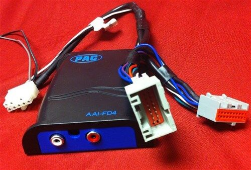 Auxiliary Audio Input To Ford Oem Can