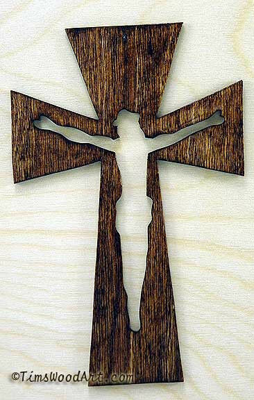 crucifix wood cross new 7 inch tall for wall hanging or ornament item s3 12 ebay. Black Bedroom Furniture Sets. Home Design Ideas