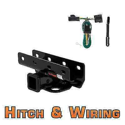 jeep wrangler trailer hitch wiring curt class 3 trailer hitch & wiring for jeep wrangler | ebay