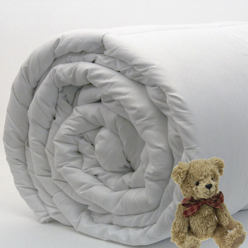 9tog Cot Bed Duvet Quilt Pillow Anti Allergy Baby