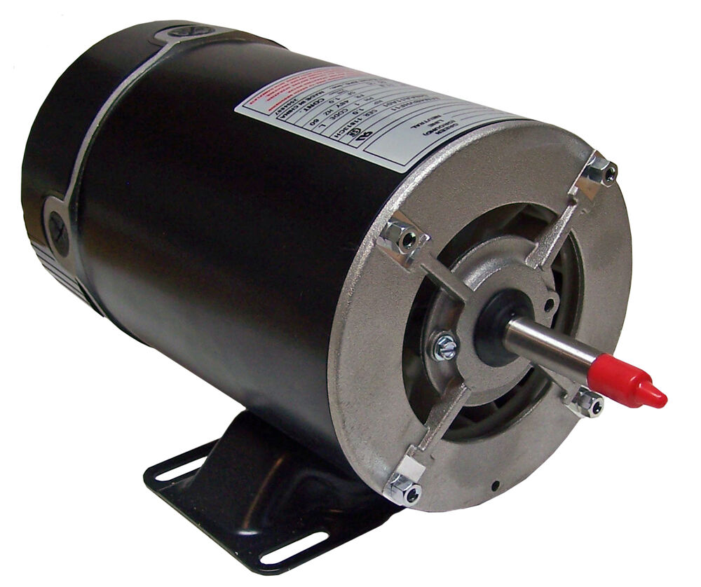 1hp Hot Tub Spa Pool Motor 115 Volts 1 Speed Bn25v1 Ebay