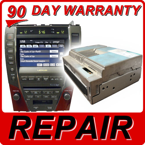 Repair 07 08 09 Lexus Es350 Es 350 Navigation Dvd Drive Gps Rom Disc Player Fix Ebay
