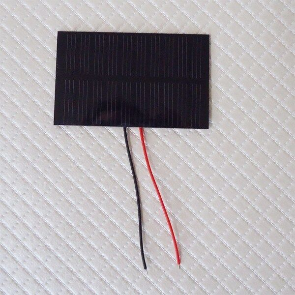 Solar Panels For Your Home >> Mini Solar Panel 5V 100mah with wire 2 pcs 55X80mm | eBay