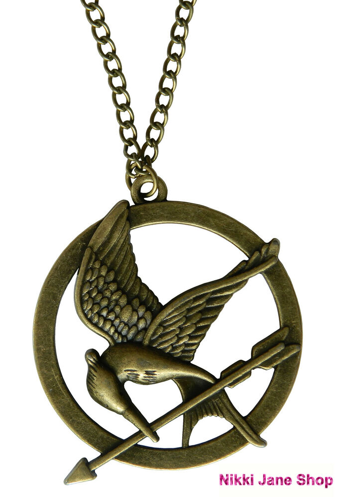bird jewelry the hunger mockingjay bird pendant necklace 5811