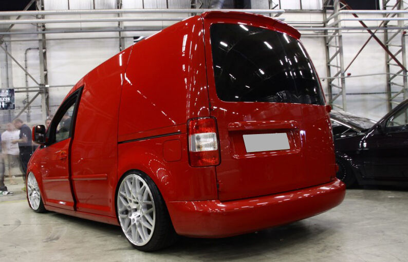 vw caddy mk3 2k from 2003 barn doors spoiler ebay. Black Bedroom Furniture Sets. Home Design Ideas