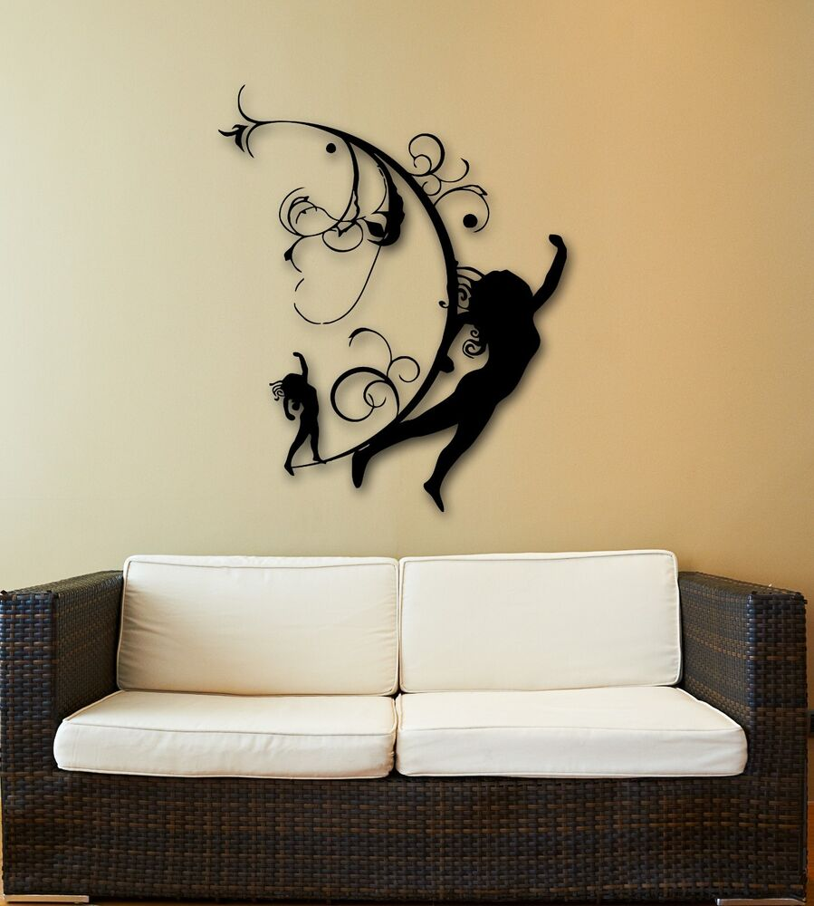 Wall Stickers Vinyl Decal Silhouette Beautiful Girl Modern