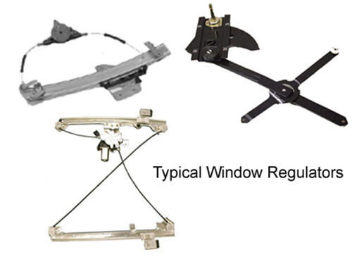 2000 2005 cadillac deville passenger side front power for 2002 dodge dakota window regulator