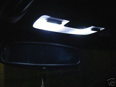 White x8 lights led interior package 04 08 acura tl type s map dome door trunk ebay 2004 acura tl led interior lights