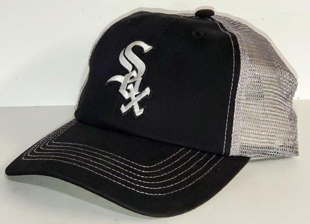 chicago white sox cap hat classic mlb patch logo black