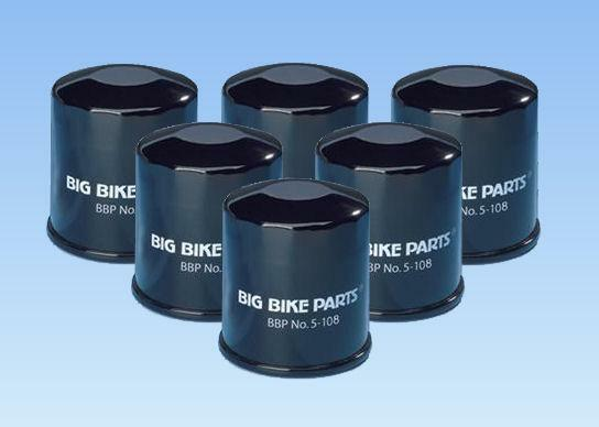 6 Big Bike Parts Oil Filters For Honda Goldwing Gl1800