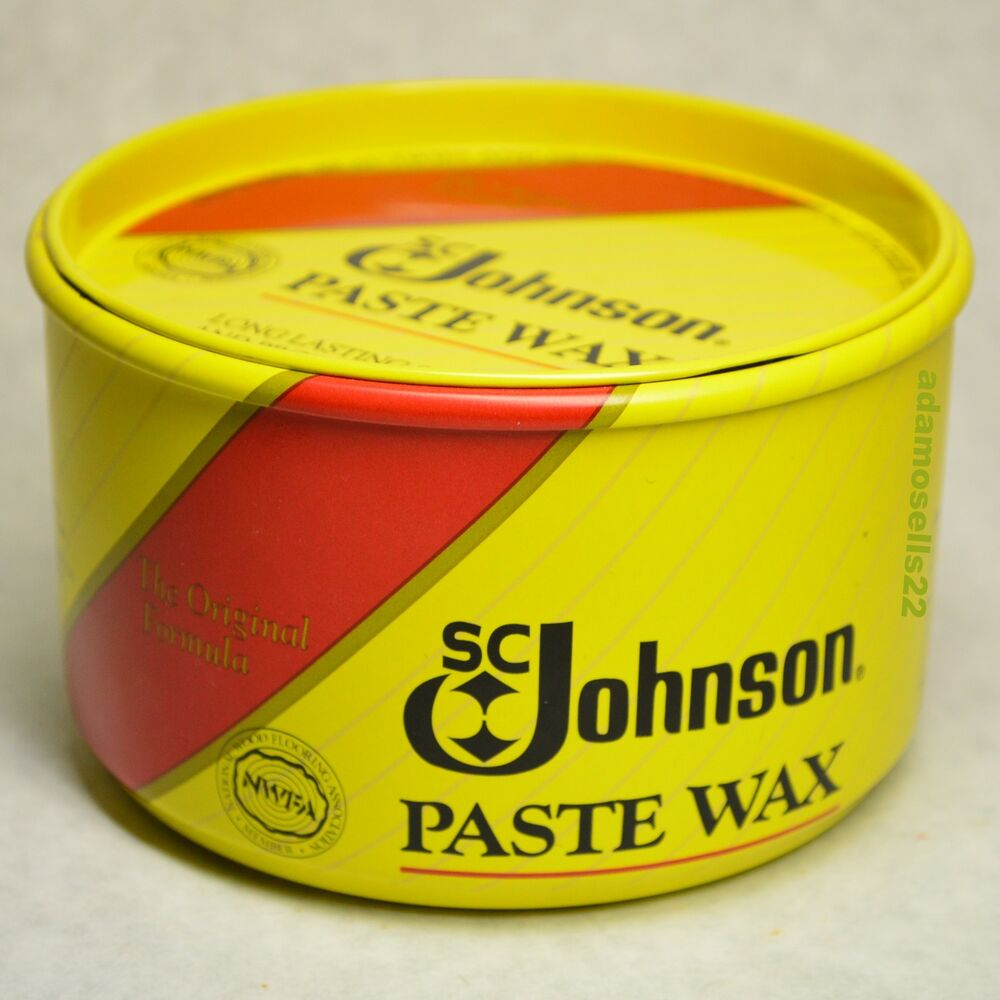 16oz Paste Wax Butchers Bowling Alley Sc Johnson Furniture