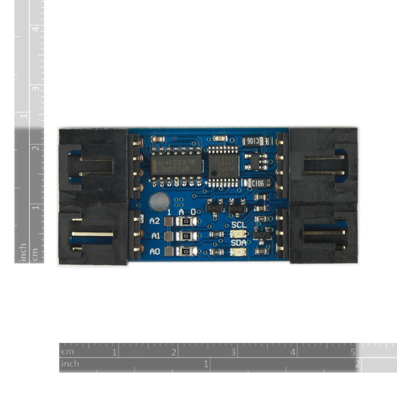 Sc is i c to spi bridge module for arduino with
