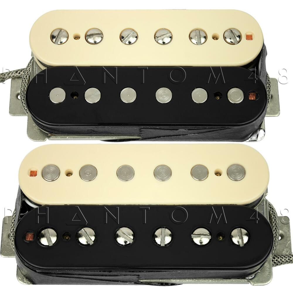 seymour duncan alnico ii pro aph 2s slash humbucker guitar pickup set zebra new ebay. Black Bedroom Furniture Sets. Home Design Ideas