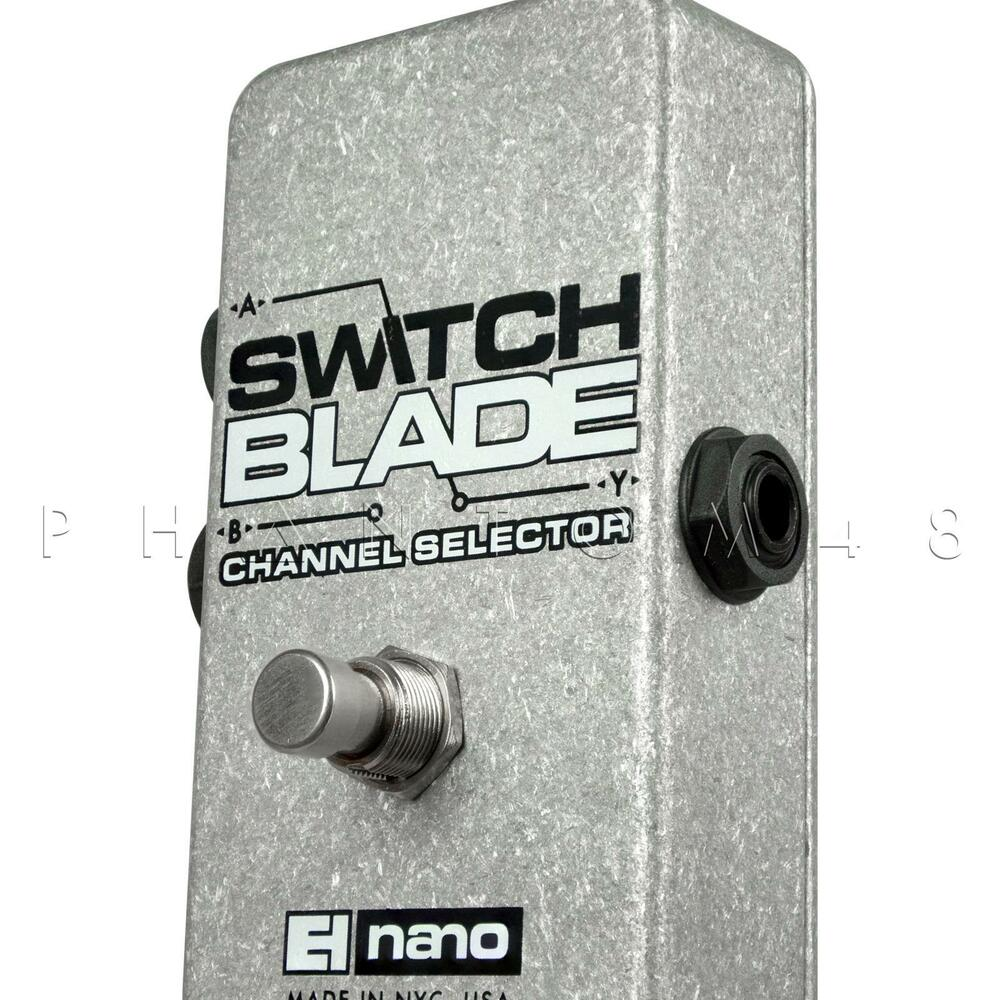 electro harmonix switchblade line channel selector footswitch pedal switch blade 683274050065 ebay. Black Bedroom Furniture Sets. Home Design Ideas