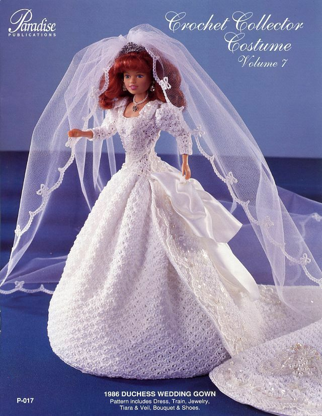 1986 duchess fergie wedding gown paradise vol 7 barbie for Sell your wedding dress online for free