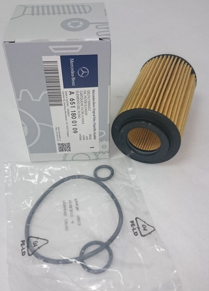 Genuine mercedes benz om651 oil filter w204 c class w212 e for Mercedes benz oil