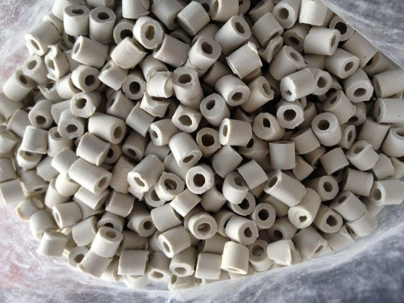 1 Liter Ceramic Raschig Rings Reflux Column Packing