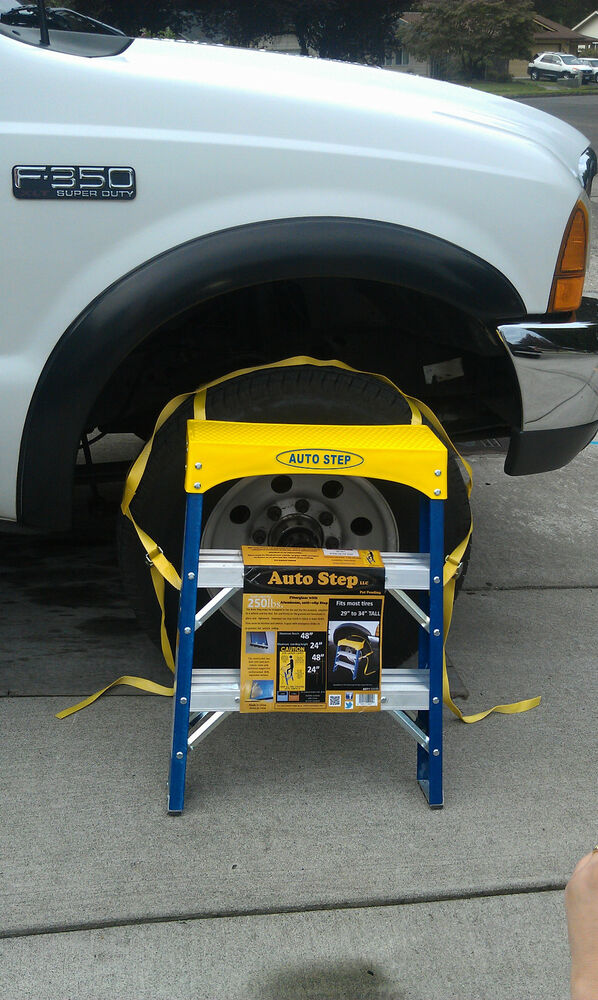 Auto Step Truck Suv Tire Safety Ladder Tool Ebay