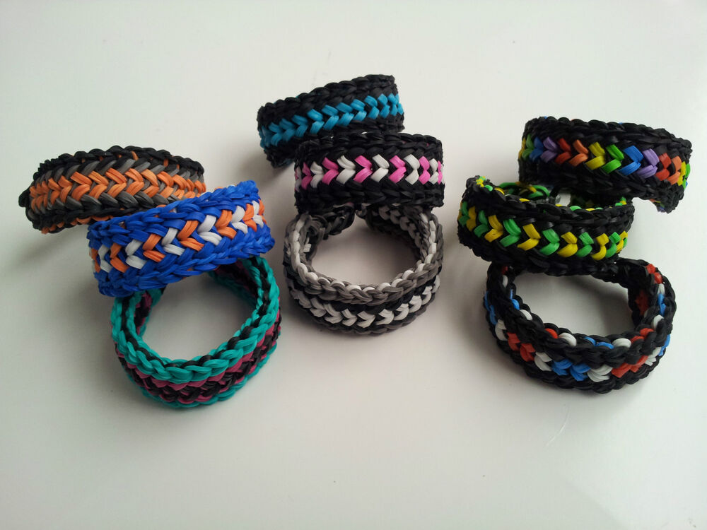 Rainbow Loom Rubber Band Bracelet Mini Snake Belly Ebay