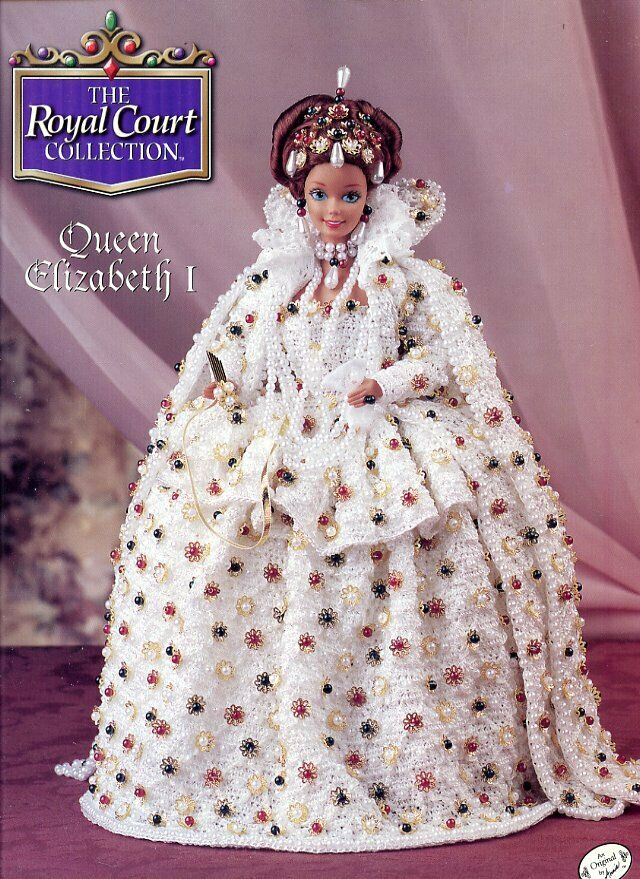 Queen Elizabeth I Outfit For Barbie Doll Annie S Royal