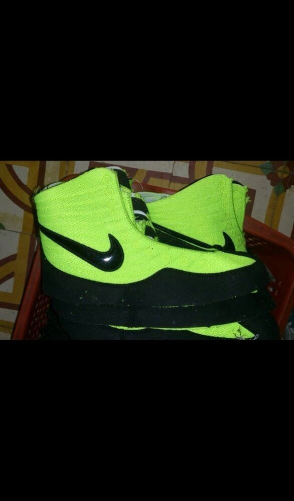 Rare Neon Nike Oe Wrestling Shoes | eBay