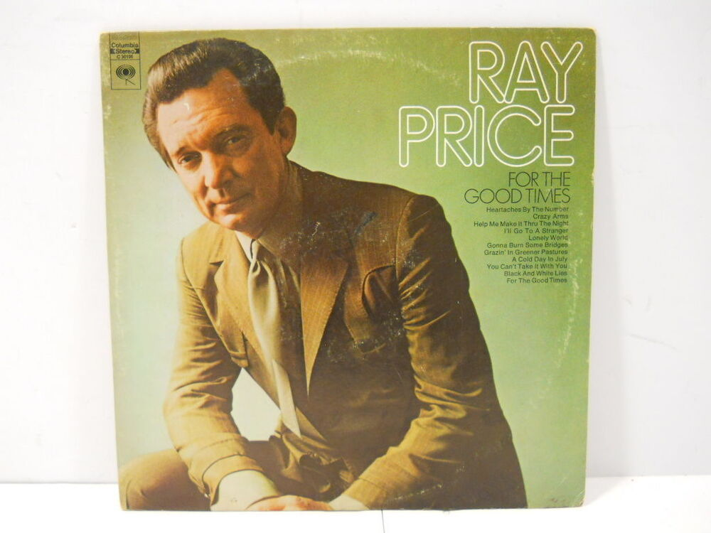 vintage ray price for the good times vinyl record from columbia records ebay. Black Bedroom Furniture Sets. Home Design Ideas
