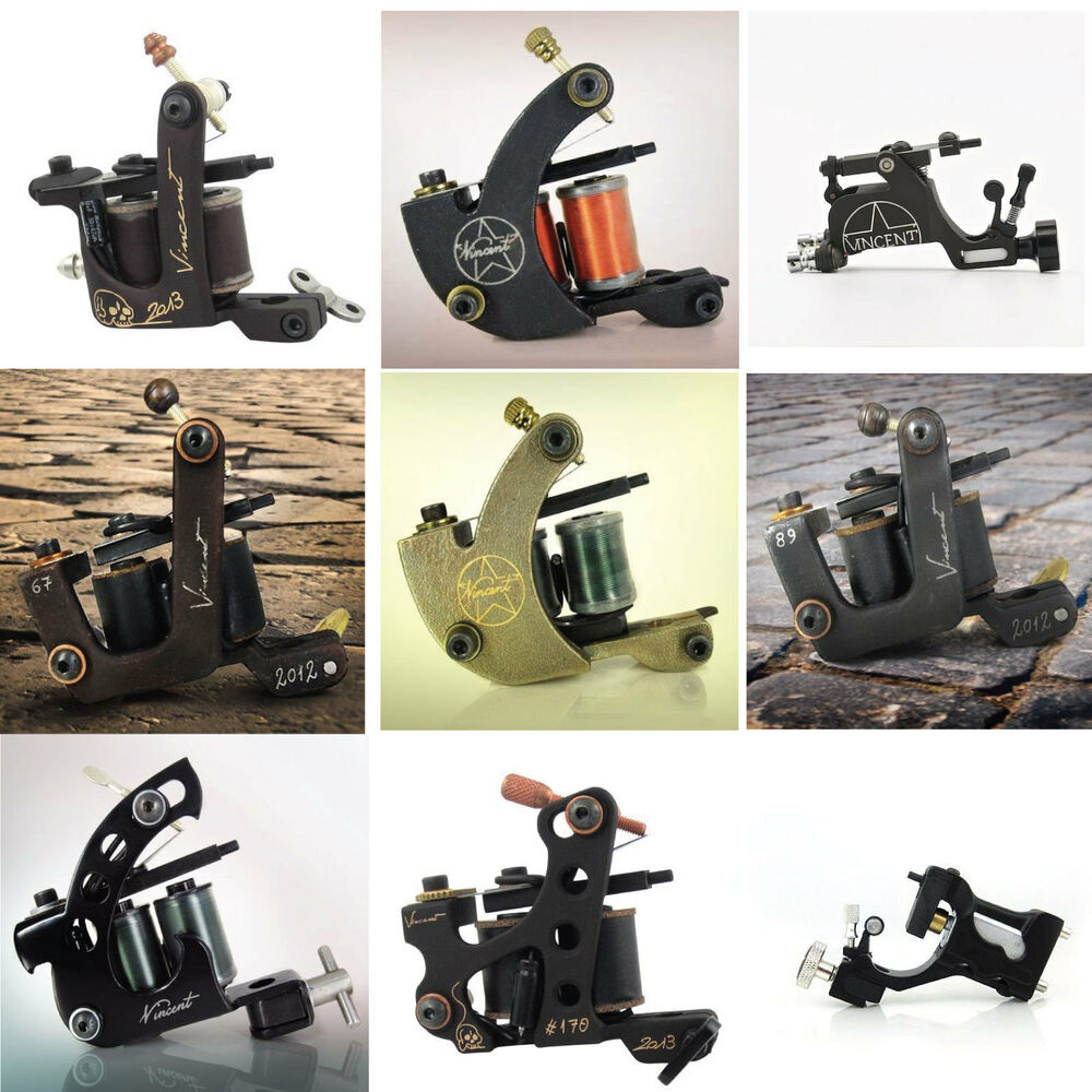 Vc collection tattoo coil rotary machines tattoo guns for Tattoo gun parts