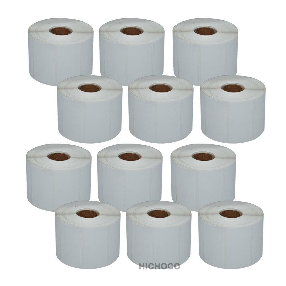 """12 Roll 2.25""""x1.25"""" Direct Thermal Barcode Label Zebra ..."""