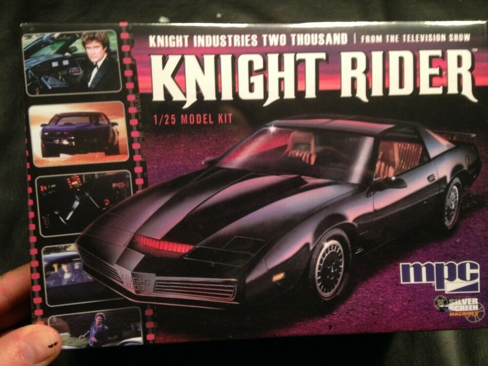 knight rider car by mpc 1 25 scale plastic model kit ebay. Black Bedroom Furniture Sets. Home Design Ideas