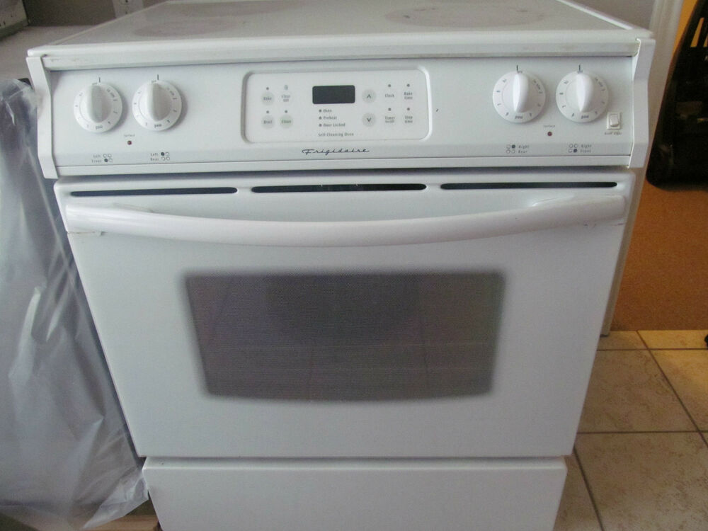Flat Top Stove ~ Frigidaire electric flat top range stove working ebay